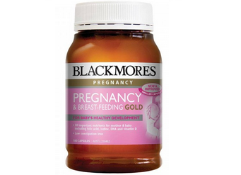 Blackmores Pregnancy Breast Feeding Gold 180 vien